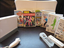 Nintendo Wii Console 599 GAMES Bundle : Just Dance + FIT BOARD Sports Play ++