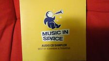 COMPILATION - MUSIC IN SPACE. BEST OF ROMANIAN ALTERNATIVE. CD SAMPLER 21 TRACKS
