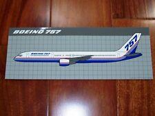 """BRAND NEW Sticker Boeing 757 8"""" x 3"""""""