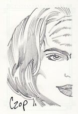 Women of Star Trek Voyager John Czop / B'Elanna Sketch Card