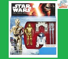R2D2 & C3PO: Star Wars The Force Awakens Mission Series Action Figure Hasbro