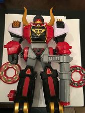 Power Rangers Super Samurai BullZord 100% completo Megazord Bull Zord