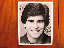 MICHAEL YOUNG(Kids are People Too!/Young Talent Time)Signed  B & W 8 X 10 Photo