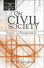 On Civil Society: Issues and Perspectives by SAGE Publications Inc (Hardback,...