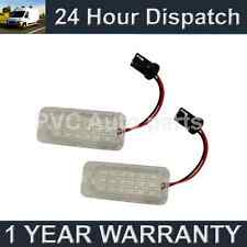 2X FOR FORD FOCUS MK2 3 FACELIFT MONDEO S-MAX GALAXY 18 LED NUMBER PLATE LAMP