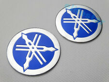 Blue Fuel Gas Tank Badge Fairing Emblem Decal Sticker For Yamaha Motorcycle Bike