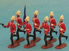 Toy Soldiers-Britain's Victorian Army-British Infantry-Zulu War-Somersetshire