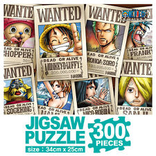 One Piece Anime Jigsaw Puzzle 300p Wanted