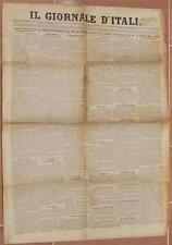 IL GIORNALE D'ITALIA 13 FEBBRAIO 1903 EMIGRAZIONE ITALIANA CLANDESTINI VATICANO