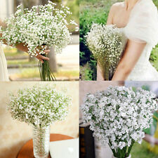 2Pcs Artifical Gypsophila Floral Beauty Silk Flower Wedding Party Bouquet Decor