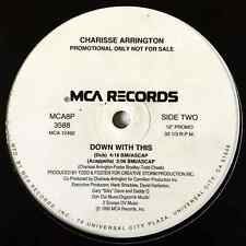 """CHARISSE ARRINGTON - Down With This (12"""") (Promo) (G+/M)"""