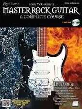 Rock House Master Rock Guitar Complete Course Tab Book 2 Dvd Set NEW! 50% OFF