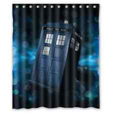 New Personalize Custom Doctor Who Bathroom Waterproof Shower Curtain 60x72 inch