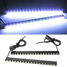 2x Super Bright Cool White 5630 18-SMD Car COB LED Lights -DRL Fog Driving Lamps