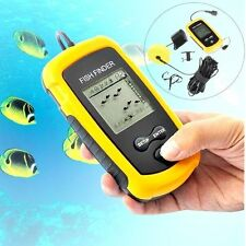 100m Depth Fish Finder Portable Sonar Sensor Alarm Transducer Fishfinder New
