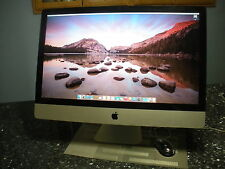 "Apple iMac 27"" Desktop, Intel i7 2.8GHZ Quad-core, 8GB mem, 1 TB HD, DVD-WR"
