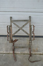 WWII US Browning  BAR 1918 Mountain troops Mule Phillips pack saddle frame