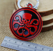 Hail HYDRA Key Chain Avengers Red Skull Avengers Iron Man Captain America