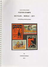 (i. b-ck) cendrillon catalogue: poster stamps: monde de bicyclettes (2011)