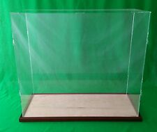 """22""""x15""""x16"""" Table Top Display Case Box for Doll Houses Doll and Bears Dollhouses"""