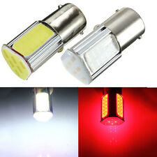 2X G18 1156 Ba15s 4 COB Red LED Turn Signal Rear Light Car Bulb Lamp 12V D083 LA