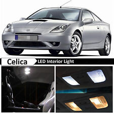6x White Interior LED Lights Package for 2000-2005 Toyota Celica + TOOL