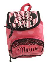 DISNEY CLASSIC MINNIE MOUSE Pink Girls Backpack / Pre School Bag / Nursery