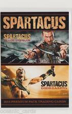 SPARTACUS BLOOD AND SAND & GODS OF THE ARENA TRADING CARD PROMO CARD P1