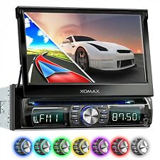 "AUTORADIO MIT DVD CD NAVIGATION NAVI GPS BLUETOOTH 7"" BILDSCHIRM USB SD MP3 1DIN"