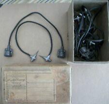 VINTAGE GAS STATION BATTERY CHARGER CABLES - !! COOL !! 1941? UNIQUE