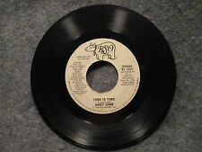 """45 RPM 7"""" Record Andy Gibb Time Is Time 1980 RSO Records Promo RS 1059 VG+"""