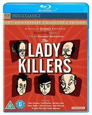 THE LADYKILLERS 60th Anniversary Edition BLURAY FILM in Inglese NEW .cp