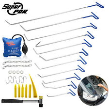 29x PDR Tools Tails Push Spring Rods Paintless Auto Body Dent Hail Repair Kit