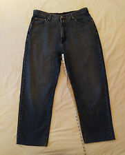 Men's Versace Couture Blue Denim Jeans Size 28x32 Straight Fit Made in Italy