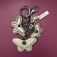 Coach Butterfly Bag Charm Key Ring Chain Fob NEW 58997
