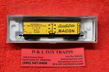50002679 Morrell Refrigerator Line 40' Wood Side Reefer Car NEW IN BOX