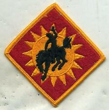 US Army 115th Field Artillery Brigade Color Patch W/Hook Back