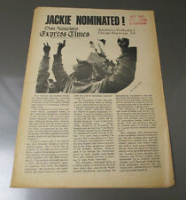 1968 San Francisco EXPRESS TIMES Underground Newspaper VG+ v.1 #32 Fort Hood