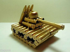 New! Model Tank made from Bullet Casings Unique! Rare! Large!! Trophy Army War