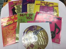 BEST OF 2009 & 2010 7 VOLUMES SINGLES KARAOKE DISC CD+G POP 112 SONGS