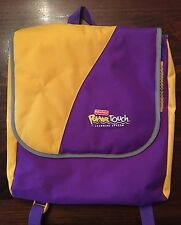 Fisher Price Power Touch Learning System BACK PACK  Travel bag storage case