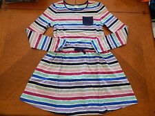 NWT GYMBOREE *MIX N MATCH* STRIPED DRESS SIZE L(10-12)