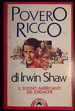 LIBRO IRWIN SHAW - POVERO RICCO - TASCABILI BOMPIANI 1981