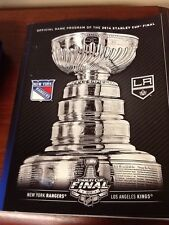 NY RANGERS vs LA KINGS STANLEY CUP NHL FINALS 2014 OFFICIAL GAME PROGRAM (b5)