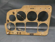 BEECHCRAFT B55 BARON AIRCRAFT PILOT SIDE INSTRUMENT PANEL TC1430