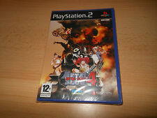 Metal Slug 4  BRAND NEW FACTORY SEALED - Sony Playstation 2 Pal UK