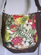 Desigual Cross Body/ Lg .Shoulder Bag Purse New Tote Shopper
