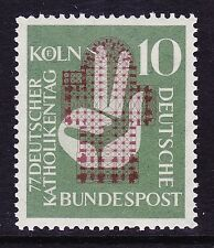 Germany 750 MNH OG 1956 77th Meeting of German Catholics at Cologne Issue VF