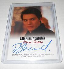 Vampire Academy Blood Sisters Autograph Trading Card #A-DS1 Dominic Sherwood