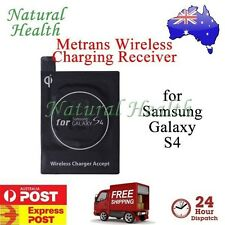 Metrans Qi Wireless Charger Charging Receiver for Samsung Galaxy S IV 4 I9500